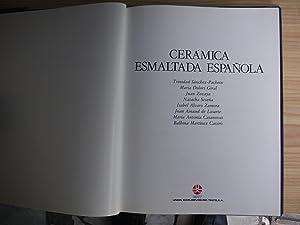 CERAMICA ESMALTADA ESPAÑOLA: CERAMICA ESPAÑOLA