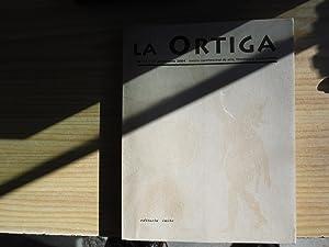 LA ORTIGA. REVISTA CUATRIMESTRAL DE ARTE, LITERATURA Y PENSAMIENTO. MONOGRAFICO SOBR EL CARNAVAL: ...