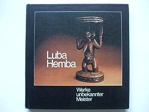 Afrika-Sammlung 1 LUBA HEMBA Werke unbekannter Meister: Agthe, Johanna: