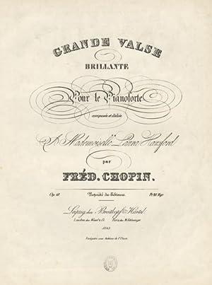 Op. 18]. Grande Valse Brillante pour le Piano dédiée A Mademoiselle Laura Harsford [!...