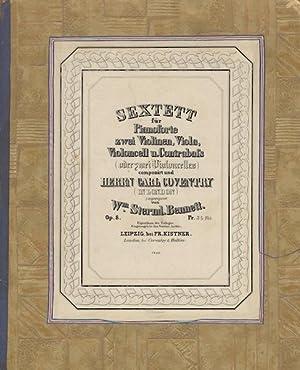 Op. 8]. [Sextett für Pianoforte zwei Violinen, Viola, Violoncell u. Contrabass (oder zwei ...