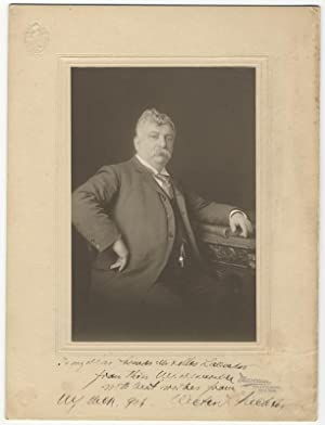 Original portrait photograph by Marceau of New York with a signed autograph inscription to foot of ...