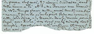 Autograph letter signed to the French poet, author, and librettist Catulle Mendès: CHABRIER,...