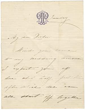 Autograph letter signed in full to an unidentified doctor: PATTI, Adelina 1843-1919