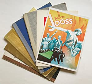 Collection of 7 souvenir programs