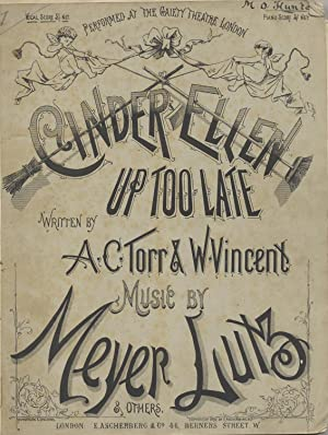 Cinder-Ellen Up Too Late. Burlesque, Written by: LUTZ, Meyer 1828-1903