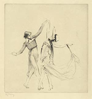Anna Pavlova and Alexander Volinin performing the