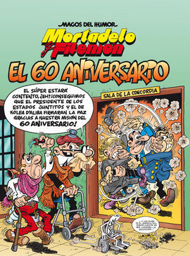 MORTADELO Y FILEMÓN. EL 60 ANIVERSARIO.