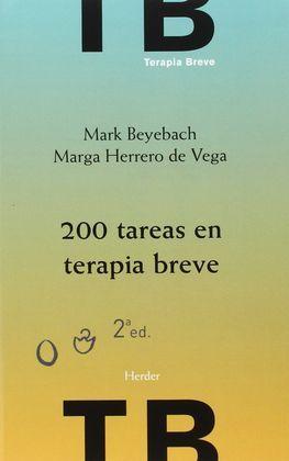 200 TAREAS EN TERAPIA BREVE: BEYEBACH, MARK