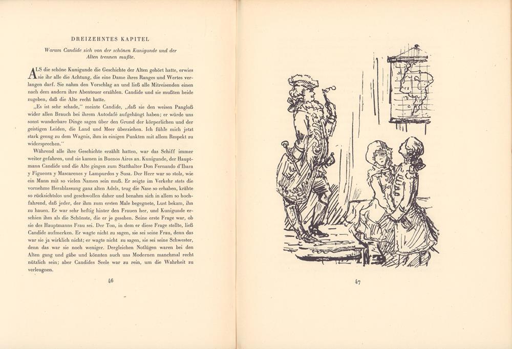 Candide. Eine Erzählung. Mit achtundzwanzig Federzeichnungen von: Kubin, Alfred -