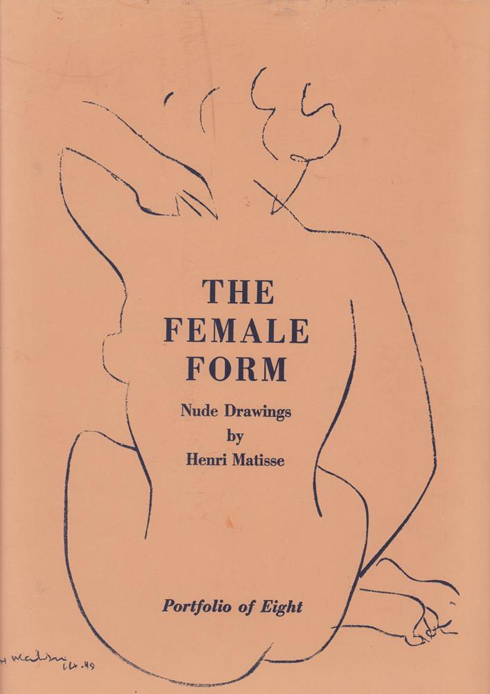 The female form. Nude drawings. 6 (of 8) plates. Matisse, Henri - Matisse, Henri.
