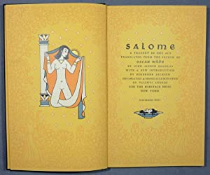 Salome. A tragedy in one act. Translated: Angelo, Valenti -