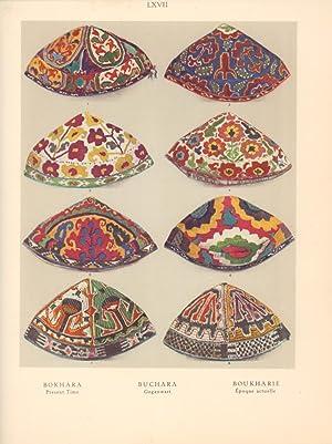 Das Ornamentwerk. Eine Sammlung angewandter farbiger Ornamente und Dekorationen. 120 Tafeln in ...