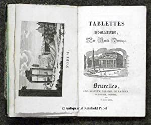 Tablettes romaines.