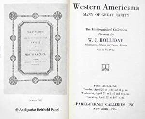 Parke-Bernet Galleries: Western Americana, many of great rarity. The distinguished collection for...
