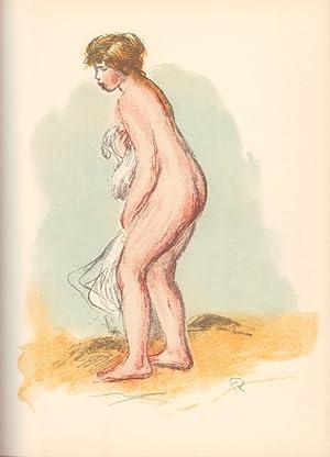 Les lithographies de Renoir. (Réalisé par André: Roger-Marx, Claude.
