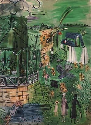 Hommage à Raoul Dufy. Texte par Jean: Dufy, Raoul -
