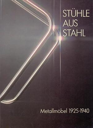 Stühle aus Stahl. Metallmöbel 1925-1940. Mit einem: Geest, Jan van