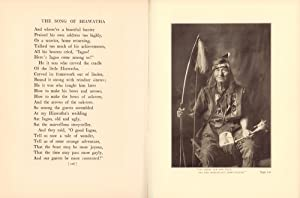 The Song of Hiawatha. (Foreword by Frank W. Gunsaulus. Illustrations of Wa-ya-ga-mug and the Indi...