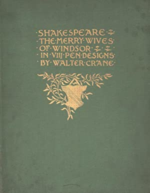 Shakespeare's comedy of the Merry Wives of: Shakespeare, William.