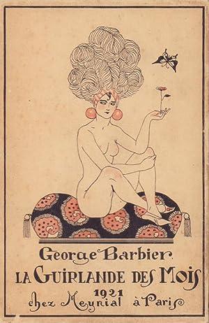 La Guirlande des mois. Cinquième année 1921.: Barbier, George.