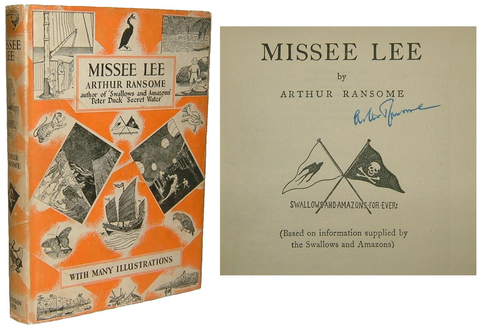 Missee Lee By Ransome Arthur London Jonathan Cape