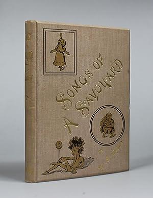 SONGS OF A SAVOYARD.: Gilbert, W. S.