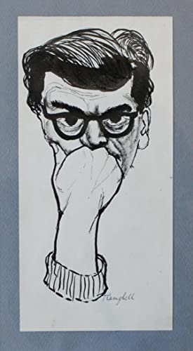 LIFE IS A LOUSY DRAG. Six Original Pen and Ink Drawings by Trubee Campbell.: Beat Generation] ...