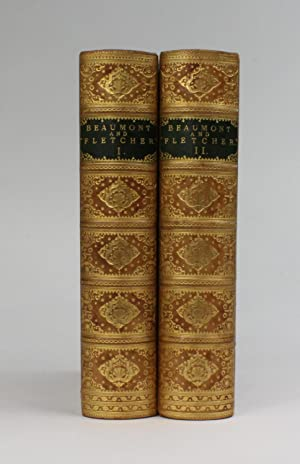 THE WORKS OF BEAUMONT AND FLETCHER: Beaumont, Francis; Fletcher, John; with an introduction by ...