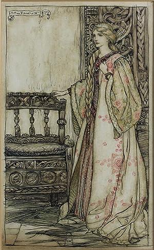 CORDELIA. An Original Watercolour. Illustrating William Shakespeare's: Rackham, Arthur; William