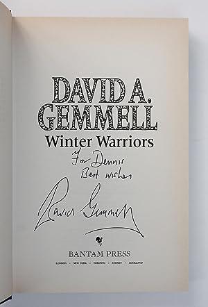 WINTER WARRIORS A New Drenai Novel.: Gemmell, David