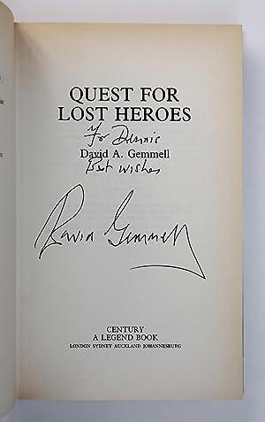 QUEST FOR LOST HEROES The Drenai Saga continues.: Gemmell, David