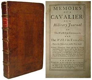 MEMOIRS OF A CAVALIER: or a Military: Defoe, Daniel