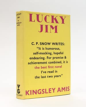 LUCKY JIM. Signed by the Author, and: Amis, Kingsley