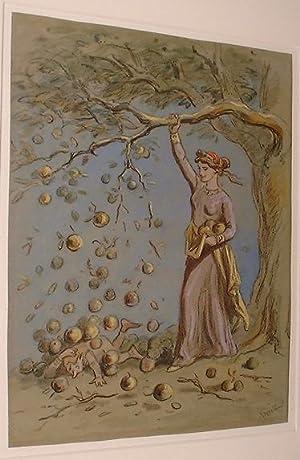 Humorous Watercolour Illustration: Phiz� Halbot K. Browne (1815 -1892)