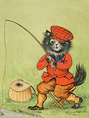 CAT FISHING: Wain, Louis William (1860 - 1939)