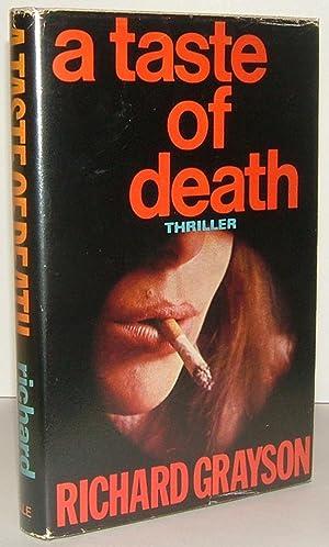 A TASTE OF DEATH: Grayson, Richard