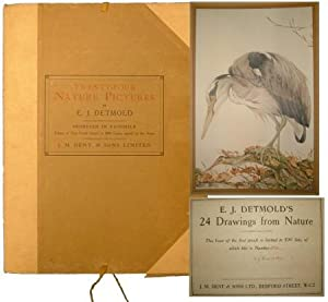 TWENTY FOUR NATURE PICTURES BY E.J.DETMOLD.: Detmold, Edward J.