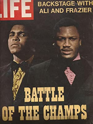 LIFE March 5, 1971, Vol. 70, No. 8: Cover: Battle of the Champs, Backstage with Ali and Frazier: ...