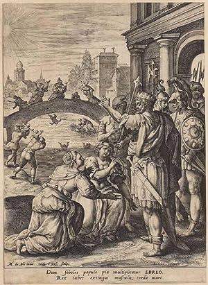 Triumphus martyrum. After Maerten de Vos (Antwerpen 1532-Antwerpen 1603).: Passe, Crispijn de, the ...
