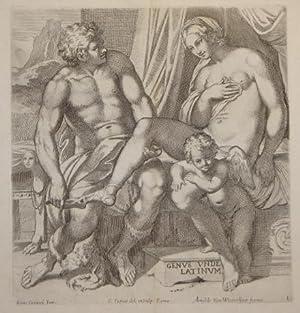 Galeria nel Palazzo Farnese in Roma del sereniss. duca di Parma . dipinta da Annibale Carracci, ...