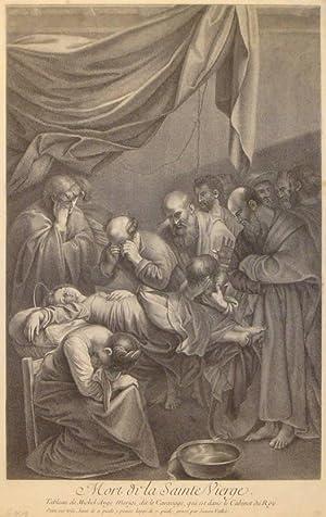 Mort de la Sainte Vierge. After Caravaggio: Vallée, Simon de