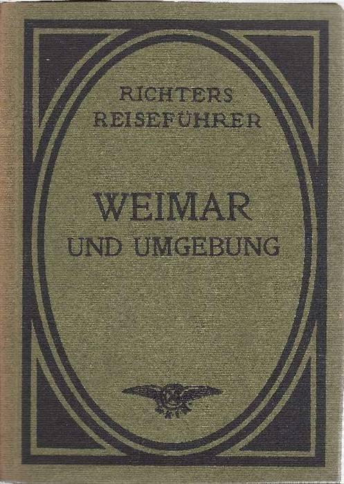 Karte Weimar Und Umgebung.Weimar Und Umgebung Bearbeitet Von Prof Dr
