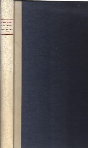 Kampagne in Frankreich 1792: Goethe, Johann Wolfgang