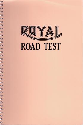 Edward Ruscha: Royal Road Test. SIGNED.: Ruscha, Edward (Ed) - Williams, Mason & Patrick Blackwell.
