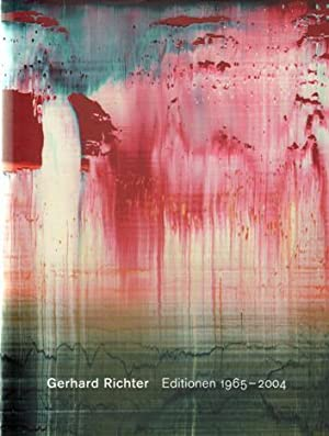 Gerhard Richter: Editions 1965-2004. Catalogue Raisonné. AS NEW.: Richter, Gerhard - Butin, ...