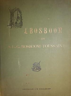 J. Bosboom en A.L.G. Bosboom-Toussaint. Facsimiles naar Studies en Teekeningen. FINE COPY.: Bosboom...