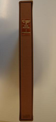Le teste di Hans Richter (1960-1965). Disegni, Pensieri, Poesie.: Richter, Hans -