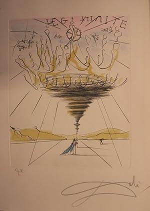 Procès en Diffamation plaidé devant la conférence: Dali, Salvador -