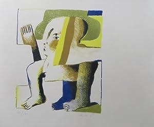 Symbiosion: Tien litho's van Horst Antes en tien gedichten van Hans Andreus. VERY FINE COPY.: ...
